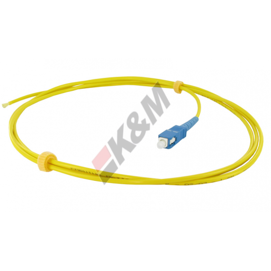 1M SCPC G652D kabel Patch PVC jaket